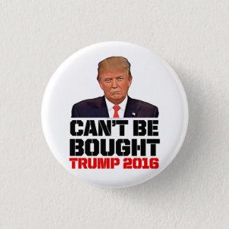 Badge Rond 2,50 Cm Ne peut pas être acheté pro Donald Trump drôle