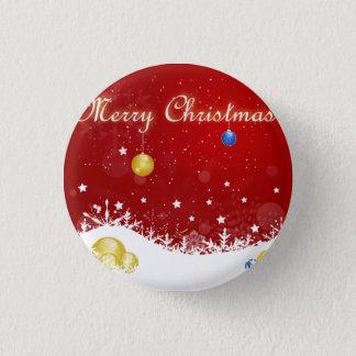 Badge Rond 2,50 Cm Noël