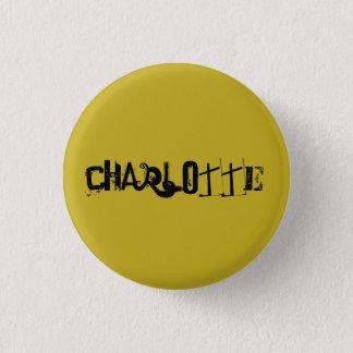Badge Rond 2,50 Cm Nom f génial de caractère de noir d'orphelin de