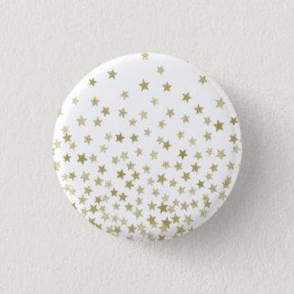 Badge Rond 2,50 Cm nuit étoilée