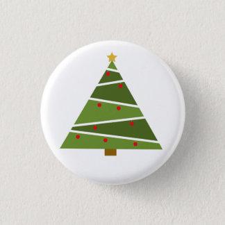 Badge Rond 2,50 Cm Oh bouton rond d'arbre de Noël