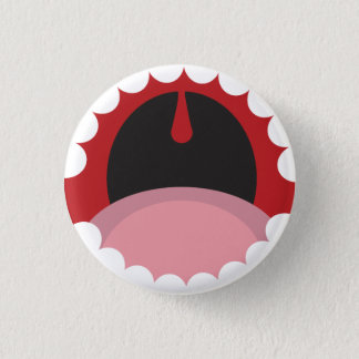 Badge Rond 2,50 Cm Open mouth