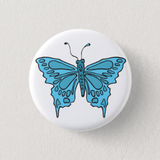 Badge Rond 2,50 Cm papillon
