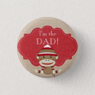Badge Rond 2,50 Cm Partie de baby shower faite sur commande je suis