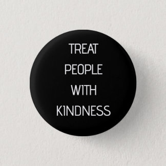 Badge Rond 2,50 Cm Personnes de festin avec la gentillesse