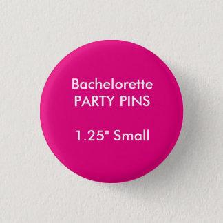 Badge Rond 2,50 Cm Petit Pin rond de partie de Bachelorette de la