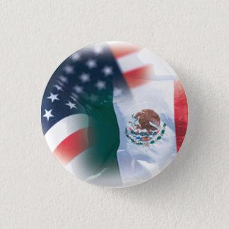 Badge Rond 2,50 Cm Petit rond de bouton mexico-américain