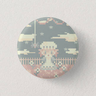 Badge Rond 2,50 Cm Petite Mlle Muffet Button