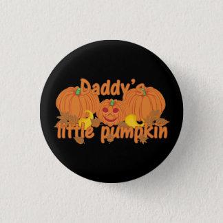 Badge Rond 2,50 Cm Peu de citrouille Halloween du papa