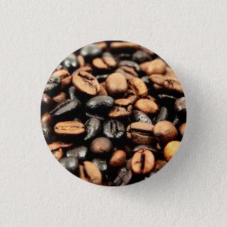 Badge Rond 2,50 Cm Photographie de grains de café