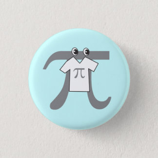 Badge Rond 2,50 Cm Pi portant pi