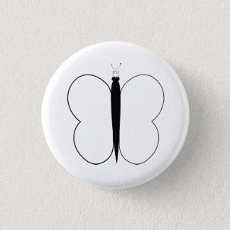 Badge Rond 2,50 Cm PIC de papillon