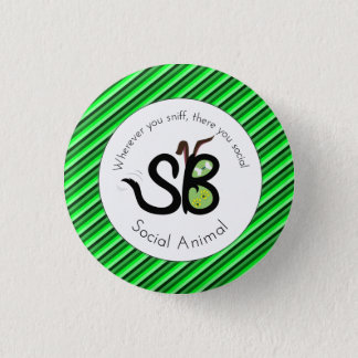 Badge Rond 2,50 Cm Pin animal social de jour de SBM St Patrick mini