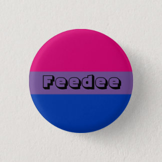 Badge Rond 2,50 Cm Pin bisexuel de Feedee