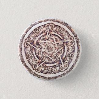Badge Rond 2,50 Cm Pin de bouton de pentagramme de Lakshimi