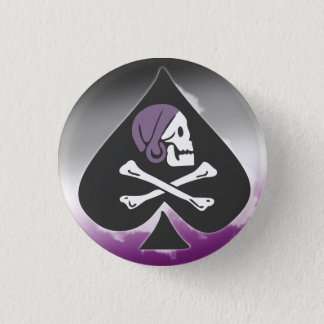 Badge Rond 2,50 Cm Pirate d'as