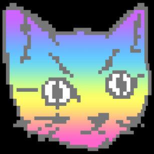 Cadeaux Chat De Pixel Zazzlebe