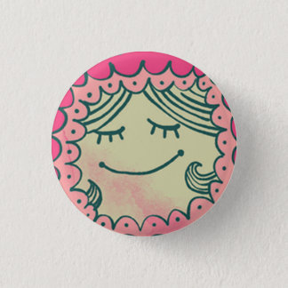 Badge Rond 2,50 Cm Plaque Fille ronde #mamamorfosis