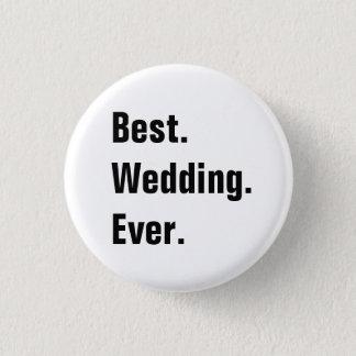 Badge Rond 2,50 Cm Pleins boutons personnalisables de mariage