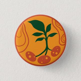 Badge Rond 2,50 Cm Pommes de terre sur le bouton de Mars