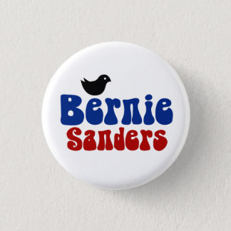 Badge Rond 2,50 Cm Ponceuses rétro Bernie POTUS de birdie