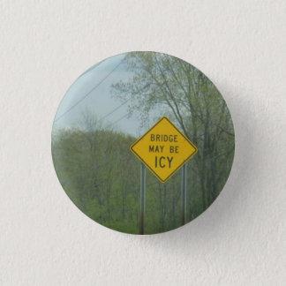 Badge Rond 2,50 Cm Pont glacial
