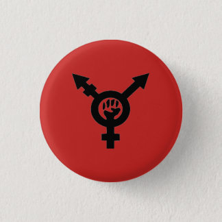 Badge Rond 2,50 Cm Puissance noire communiste féministe étrange de