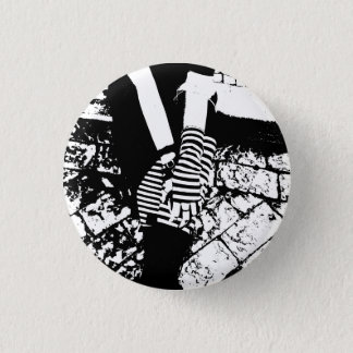 Badge Rond 2,50 Cm punk hearted
