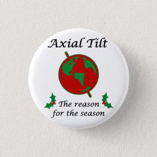 Badge Rond 2,50 Cm Raison axiale d'inclinaison de la saison