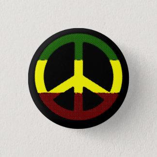 Badge Rond 2,50 Cm Reggae de paix