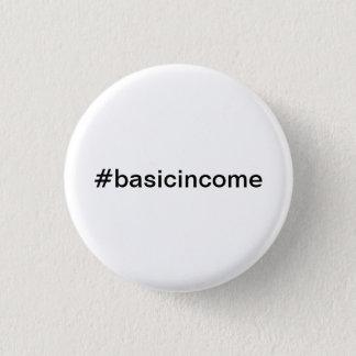 Badge Rond 2,50 Cm revenu de base universel de #basicincome