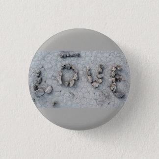 Badge Rond 2,50 Cm Roches d'amour dans l'Ouzbékistan : Photo