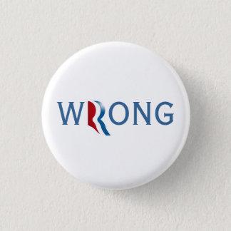 Badge Rond 2,50 Cm Romney Ryan 2012 - bouton faux