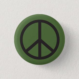 Badge Rond 2,50 Cm Signe de paix