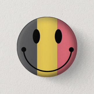 Badge Rond 2,50 Cm Smiley de la Belgique
