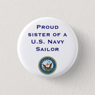 Badge Rond 2,50 Cm Soeur de marine
