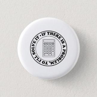 Badge Rond 2,50 Cm Solutionneur de problèmes.