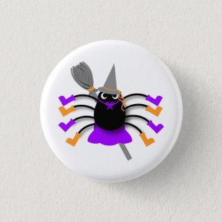Badge Rond 2,50 Cm Sorcière d'araignée