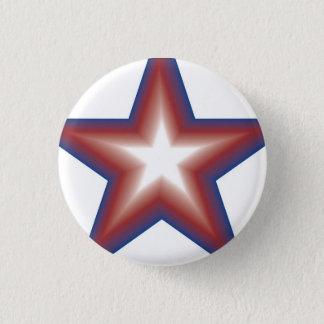 Badge Rond 2,50 Cm Statut d'étoile