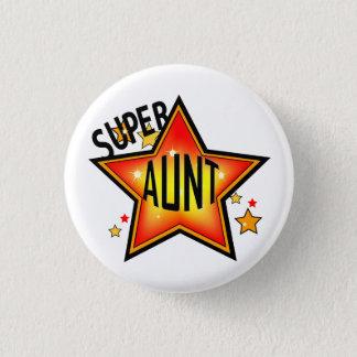 Badge Rond 2,50 Cm Tante fraîche superbe Funny Button d'étoile