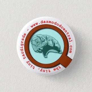 Badge Rond 2,50 Cm Tardigrade magnifié