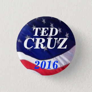 Badge Rond 2,50 Cm Ted Cruz 2016