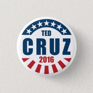 Badge Rond 2,50 Cm Ted Cruz pour le président 2016