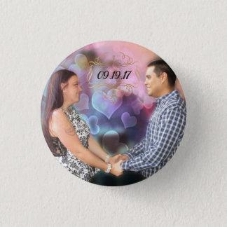 Badge Rond 2,50 Cm Tesla et Andres