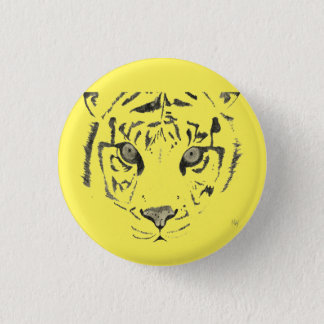 Badge Rond 2,50 Cm Tigre