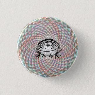Badge Rond 2,50 Cm tour magique de médecine de crapaud