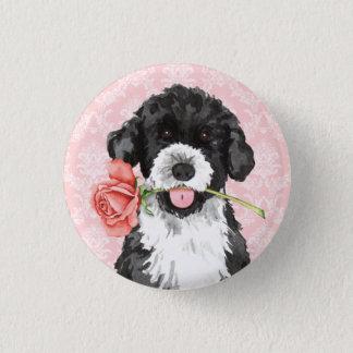 Badge Rond 2,50 Cm Valentine s'est levé PWD