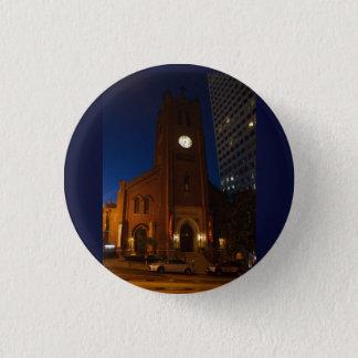 Badge Rond 2,50 Cm Vieux bouton de Pinback de la cathédrale de Mary