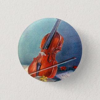 Badge Rond 2,50 Cm Violon/Violon
