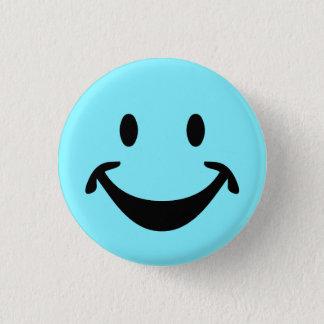 Badge Rond 2,50 Cm Visage souriant drôle + votre backg. et idées